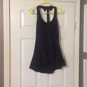 Black form fitting shirt!